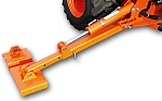 Extendable BH Stabilizers with FAT PADS for Kubota BX Series BT600, BT601, BT602, BT603
