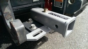Quick-On Receiver Hitch Kubota BX Series